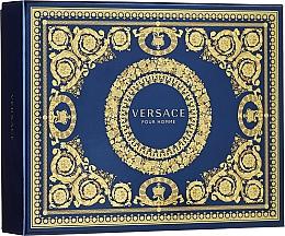 Profumi e cosmetici Versace Pour Homme - Set (edt/50ml + sh/g/50ml + ash/balm/50ml)