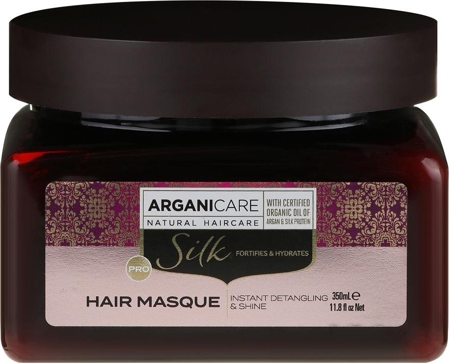 Maschera capelli con proteine della seta - Arganicare Silk Hair Masque