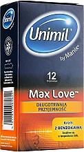 Profumi e cosmetici Preservativi, 12 pezzi - Unimil Max Love