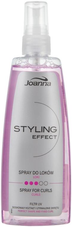 Spray per capelli ricci - Joanna Styling Effect Curly Spray