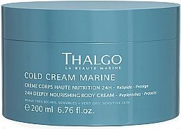 Profumi e cosmetici Crema rivitalizzante per il corpo - Thalgo Cold Cream Marine Deeply Nourishing Body Cream
