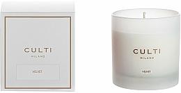 Profumi e cosmetici Candela profumata - Culti Milano Candle Bianco Velvet