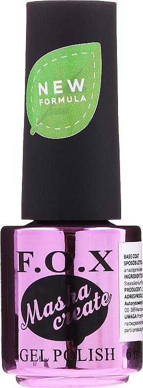 Base per smalto gel - F.O.X Masha Create Color Base