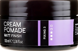 Profumi e cosmetici Pomata modellante per capelli e barba - Dandy Matt Finish Cream Pomade Matte Wax For Hair And Beard