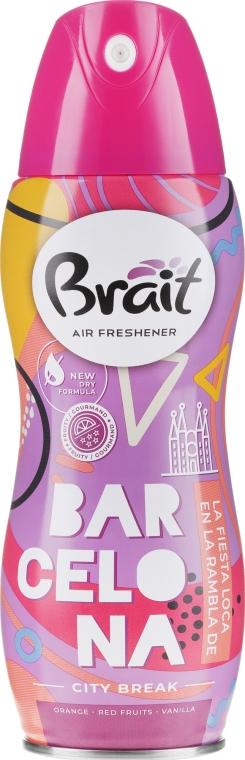 "Deodorante per ambienti ""City Break -Barcelona"" - Brait Dry Air"