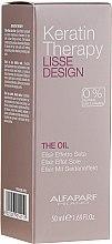 Profumi e cosmetici Olio alla cheratina per capelli - Alfaparf Lisse Design Keratin Therapy Oil