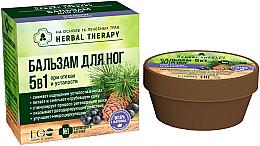 Profumi e cosmetici Balsamo piedi 5 in 1 per gonfiore e stanchezza - ECO Laboratorie Herbal Therapy