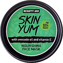 Profumi e cosmetici Maschera viso nutriente - Beauty Jar Skin Yum Nourishing Face Mask