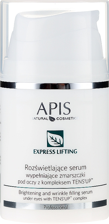 Siero contorno occhi - APIS Professional Express Lifting Brightening Filling Wrinkle Serum With Tens UP — foto N1