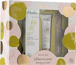 Profumi e cosmetici Set - Melvita Beauty For Your Hands Set (h/cr/30ml + h/f/oil/50ml + nail/file/1pcs)