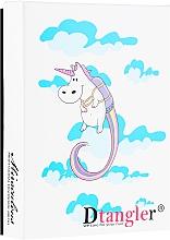 Profumi e cosmetici Set di spazzole districante, blu e rosa - KayPro Dtangler Unicorn