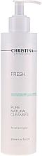 Profumi e cosmetici Detergente naturale per tutti i tipi di pelle - Christina Fresh Pure & Natural Cleanser