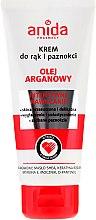 Profumi e cosmetici Crema mani e unghie - Anida Pharmacy Argan Oil Hand Cream