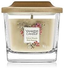 Profumi e cosmetici Candela profumata - Yankee Candle Elevation Velvet Woods