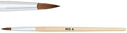 Profumi e cosmetici Pennello per acrilico, 6 - NeoNail Professional