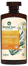 Profumi e cosmetici Shampoo per capelli con estratto di camomilla - Farmona Herbal Care Chamomile Shampoo