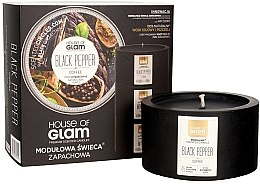 Profumi e cosmetici Candela profumata - House of Glam Black Pepper&Coffee Candle