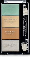 Profumi e cosmetici Palette di correttori viso - Dermacol Corrector Palette