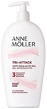 Profumi e cosmetici Gel corpo anticellulite - Anne Moller Tri-attack Anti-cellulite Gel