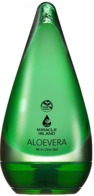 """Gel per viso e corpo """"Aloe Vera"""" - Miracle Island Aloevera 99% All In One Gel"""