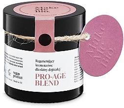 Profumi e cosmetici Crema rigenerantte per la pelle matura da notte - Make Me BIO Anti-Aging Night