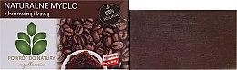 "Profumi e cosmetici Sapone naturale ""Fango e caffè"" - Powrot do Natury Natural Soap Mud and Coffee"