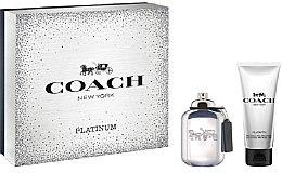 Profumi e cosmetici Coach Platinum - Set (edp/60ml + sh/gel/100ml)