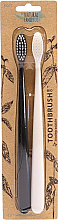 Profumi e cosmetici Set - The Natural Family Co Bio Brush Pirate Black & Ivory Desert (toothbrush/1pcs + toothbrush/1pcs)