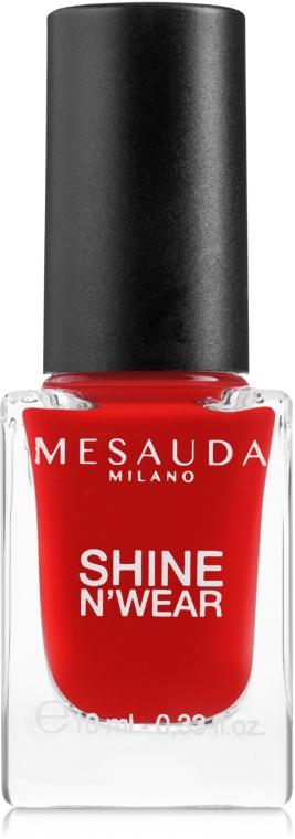Smalto per unghie - Mesauda Milano Shine N`Wear Nail Polish