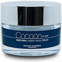 Profumi e cosmetici Crema viso, per uomo - Fontana Contarini Cocoon Restore+ Night Face Cream