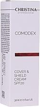 Profumi e cosmetici Crema viso protettiva con effetto tonico - Christina Comodex Cover & Shield Cream SPF20