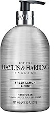 Profumi e cosmetici Sapone liquido mani - Baylis & Harding Elements Lemon and Mint Hand Wash