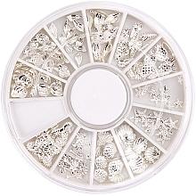 Profumi e cosmetici Decorazione per unghie - Peggy Sage Carousel For Nail Decorations Summer Silver