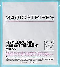 Profumi e cosmetici Maschera idratante intensiva con acido ialuronico - Magicstripes Hyaluronic Intensive Treatment Mask