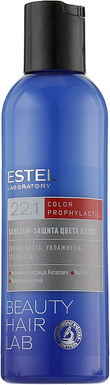 Balsamo per la protezione del colore dei capelli - Estel Beauty Hair Lab 22.1 Color Prophylactic — foto N2