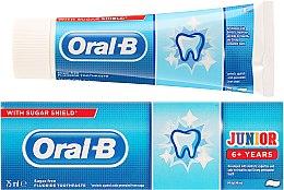 Profumi e cosmetici Dentifricio per bambini 6+ - Oral-B Junior Toothpaste