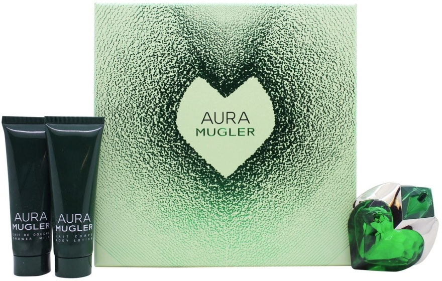 Mugler Aura Mugler - Set (edp/30ml + b/lot/50ml + sh/gel/50ml)