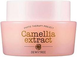 Profumi e cosmetici Crema viso al burro di karité e olio di semi di macadamia - Dewytree Phyto Therapy Camellia Extract Cream