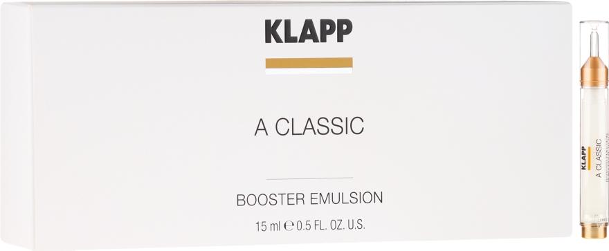 """Emulsione booster """"Vitamina A"""" - Klapp A Classic Booster Emulsion — foto N1"""