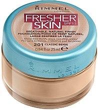 Profumi e cosmetici Fondotinta crema - Rimmel Fresher Skin SPF 15