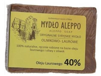Sapone tradizionale siriano, 40% olio di alloro - Biomika Aleppo Soap