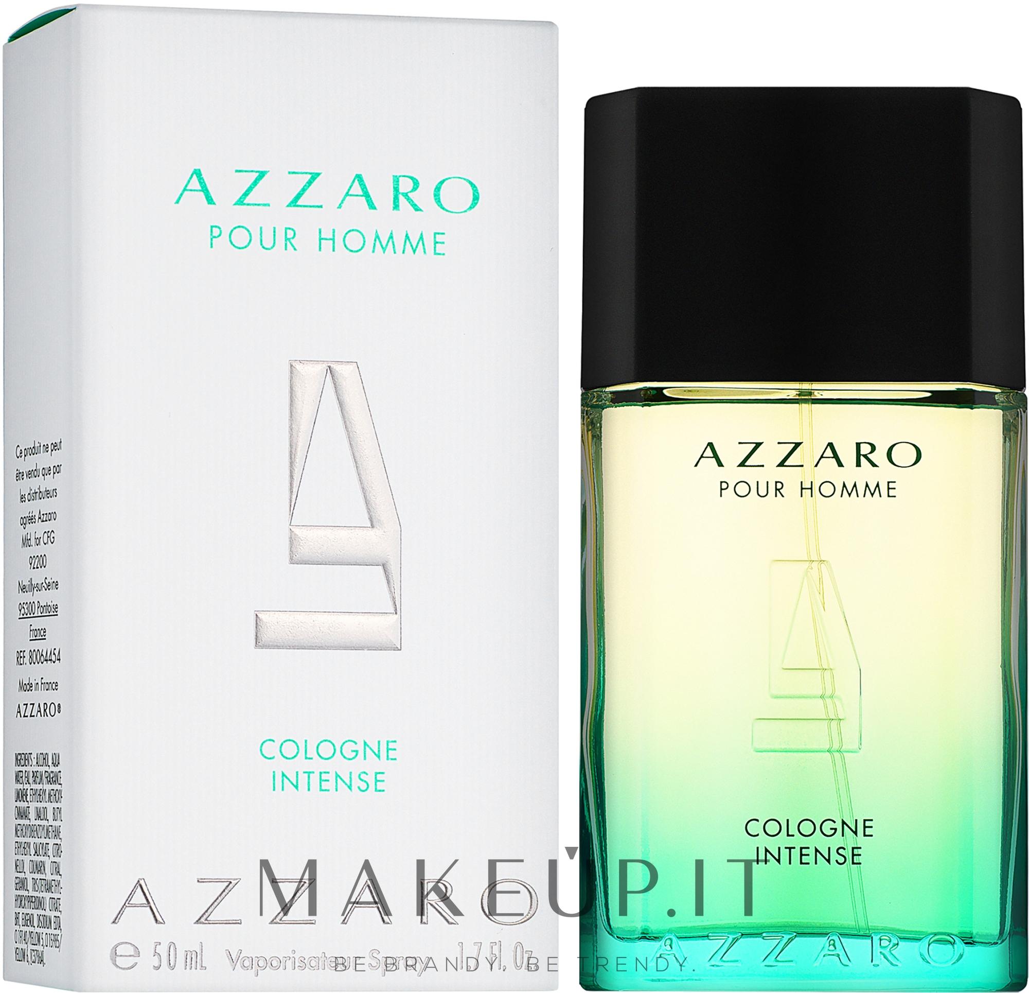 Azzaro Pour Homme Cologne Intense - Colonia — foto 50 ml