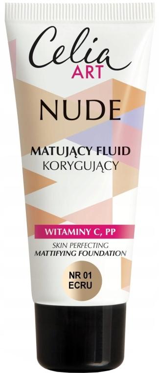 Fondotinta opacizzante - Celia Nude Mattifying Foundation