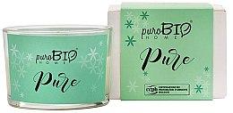 Profumi e cosmetici Candela organica - PuroBio Home Organic Pure