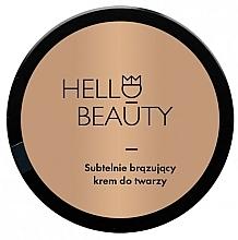 Profumi e cosmetici Crema viso dal leggero effetto bronzo - Lullalove Face Cream With Light Bronzing Effect