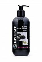 Profumi e cosmetici Sapone nero allo shungite con dosatore - Fratti NV Shungite