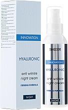 Profumi e cosmetici Crema anti-rughe all' acido ialuronico - BingoSpa Hyaluronic Anti Wrinkle Night Cream