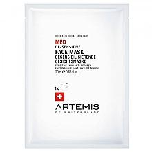 Profumi e cosmetici Maschera viso - Artemis of Switzerland Med De-Sensitise Face Mask