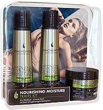 Profumi e cosmetici Set - Macadamia Professional Nourishing Moisture Travel Kit (shm/100ml + cond/100ml + mask/60ml)
