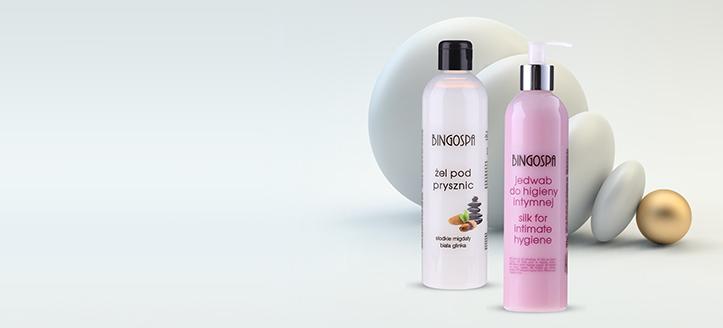 Acquistando prodotti BingoSpa da 13 €, ricevi in regalo un gel per l'igiene intima